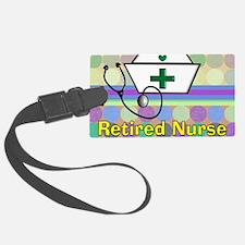 retired nurse serving tray blank Luggage Tag