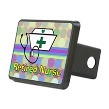 retired nurse serving tray Hitch Cover