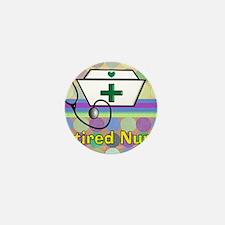 retired nurse serving tray blanket 3 Mini Button