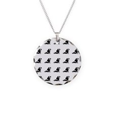 Dachshund tiled Necklace
