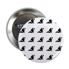 "Dachshund tiled 2.25"" Button"