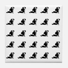 Dachshund tiled Tile Coaster