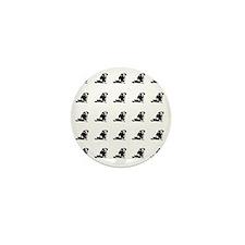 Dachshund tiled Mini Button