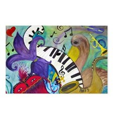 Southern Jazz Postcards (Package of 8)