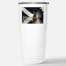 Braveheart Sheltie Travel Mug