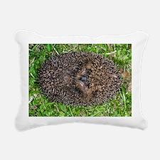 European hedgehog Rectangular Canvas Pillow
