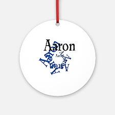 Aaron Round Ornament