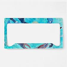 Blue Crab License Plate Holder