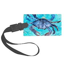 Blue Crab Luggage Tag