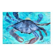 Blue Crab Postcards (Package of 8)