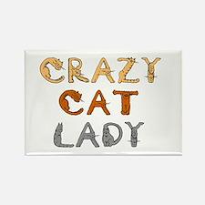 Crazy Cat Lady!!! Rectangle Magnet