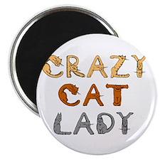 Crazy Cat Lady!!! Magnet