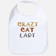Crazy Cat Lady!!! Bib
