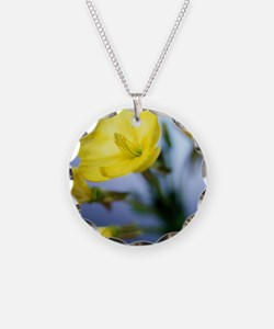 Evening primrose flowers Necklace