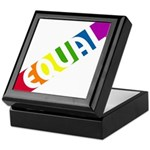 Equal Rainbow Keepsake Box