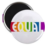 "Equal Rainbow 2.25"" Magnet (10 pack)"