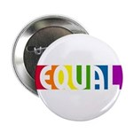 Equal Rainbow Button