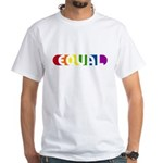 Equal Rainbow White T-Shirt