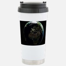 Europe at night, satellite imag Travel Mug