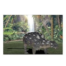 Euoplocephalus, artwork Postcards (Package of 8)