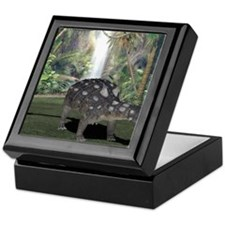 Euoplocephalus, artwork Keepsake Box