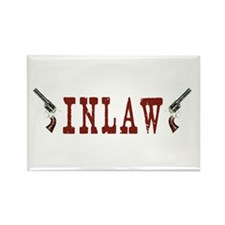 INLAW Rectangle Magnet