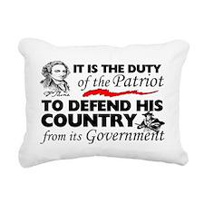 Duty Rectangular Canvas Pillow