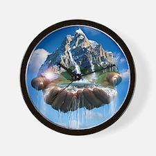 Environmental care, conceptual image Wall Clock