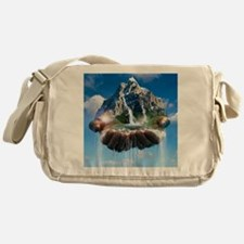 Environmental care, conceptual image Messenger Bag