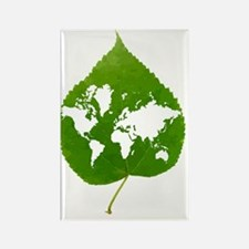 Environmentally friendly planet,  Rectangle Magnet