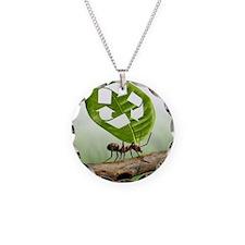 Environmental care, conceptu Necklace