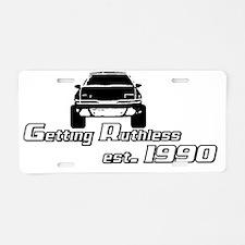 Ruthless1 Aluminum License Plate