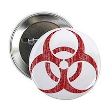 """Vintage Biohazard 2.25"""" Button"""