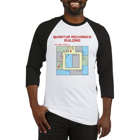Quantum Mechanics Building Baseball Jersey