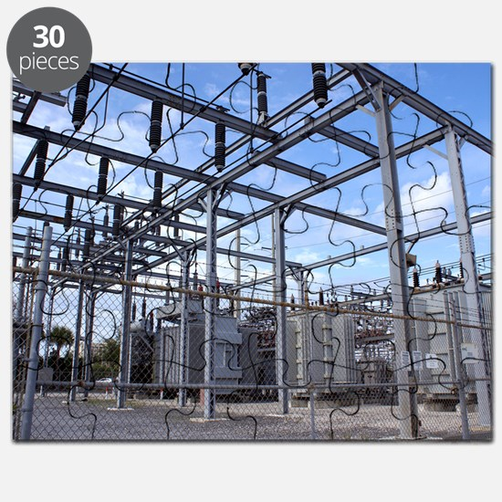 Electricity substation Puzzle
