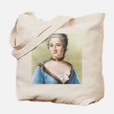 Emilie du Chatelet, French physicist Tote Bag
