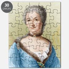 Emilie du Chatelet, French physicist Puzzle