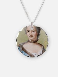 Emilie du Chatelet, French p Necklace
