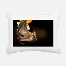 Egyptian rousette bat Rectangular Canvas Pillow