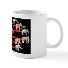 Elephant evolution, diagram Mug