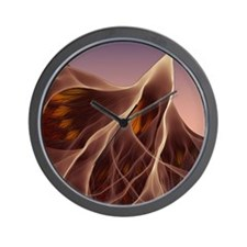 Electron flow Wall Clock