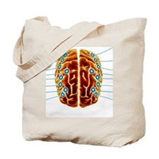 Electroencephalography, artwork Tote Bag