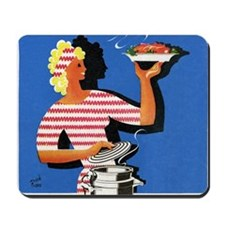 Electric cooker, 1940s artwork Mousepad
