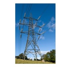 Electricity pylon Postcards (Package of 8)