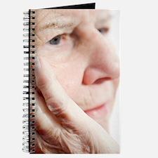 Elderly woman resting Journal