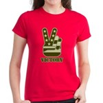 Victory Sign Women's Dark T-Shirt