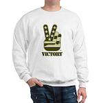 Victory Sign Sweatshirt