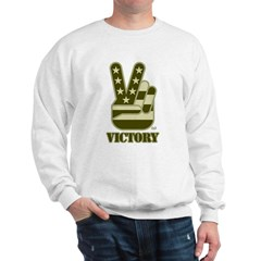 Victory Sign Sweatshirt