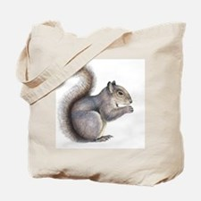 Eastern grey squirrel, artwork Tote Bag