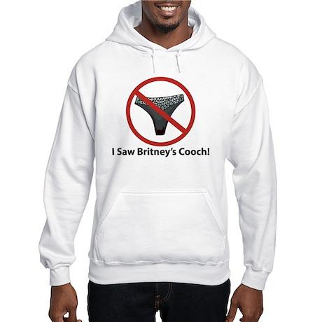 Hooded Sweatshirt - I Saw Britney's Cooch!